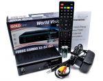 World Vision Foros Combo (DVB-S2,T2,t2 mi,C,IPTV)
